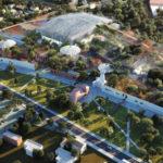 Recyclage de patrimoine industriel au Parc de la Fonderie