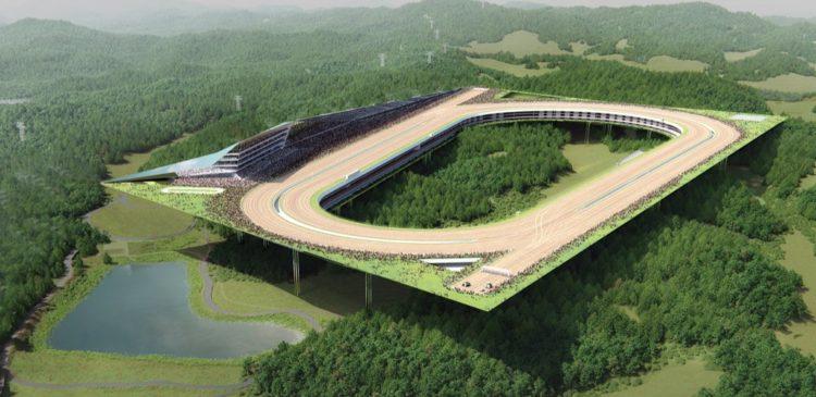 Projet Hippodrome Yeongcheon Corée