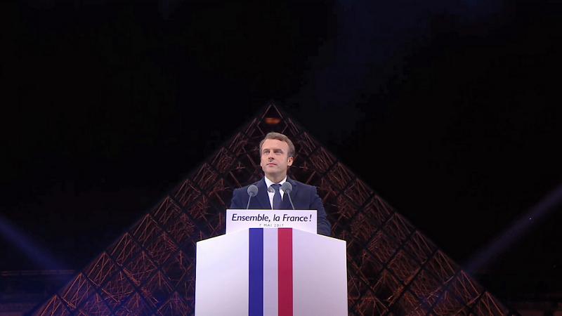 Pour Emmanuel Macron, l'architecture vaut bien une (pro)messe
