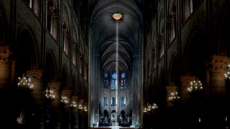 Notre-Dame de Paris, la trace du feu