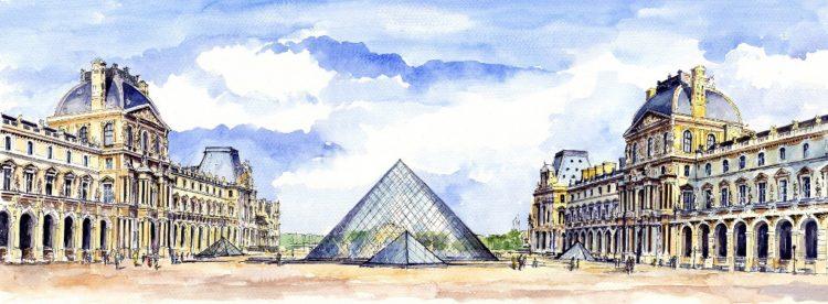 Le Louvre@Wiesław-Graziowski
