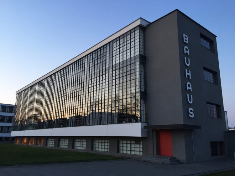 Bauhaus Dessau, Walter Gropius, 1926