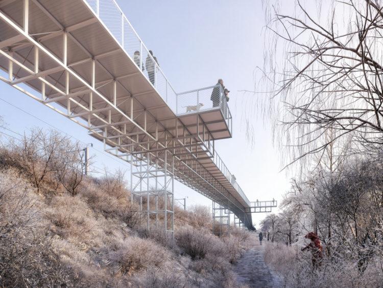 Passerelles Explorations Architecture