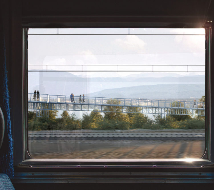 Passerelle Suisse @Explorations Architecture