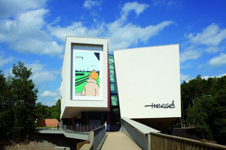Musée Hergé - Entrée