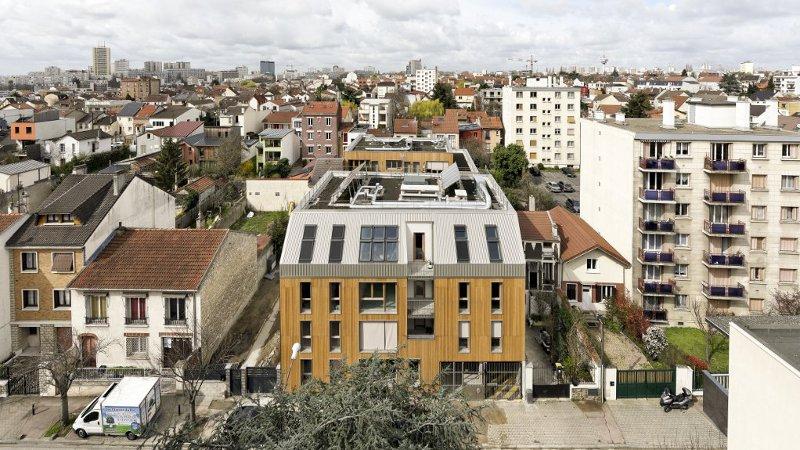 A Montreuil, 26 logements PSLA passif signés Benjamin Fleury