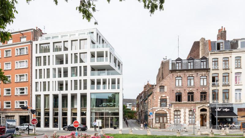 Dans le Vieux-Lille, logements et restaurants signés Coldefy & Associés