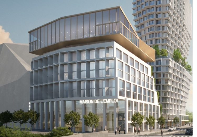 EuroRennes SMAC Immeuble mixte