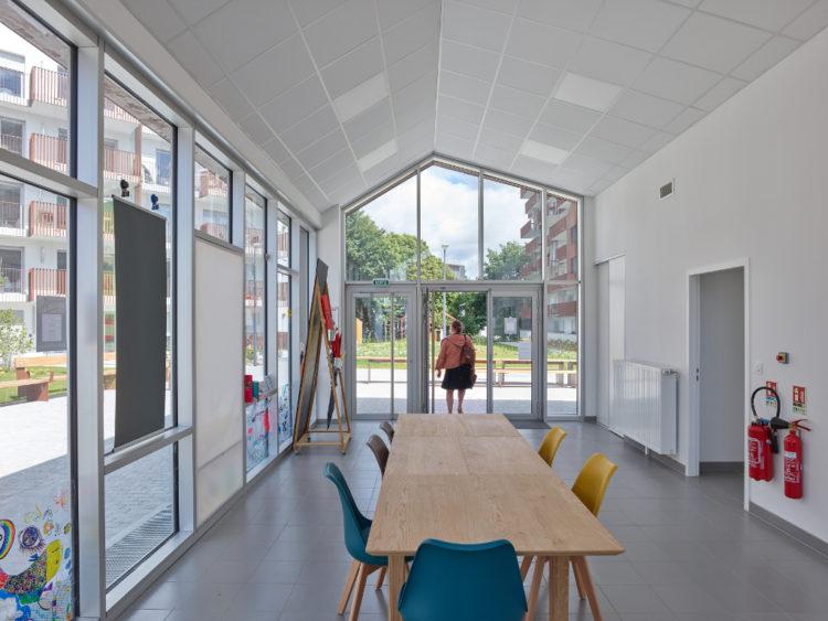 Cours des arts Rennes Intérieur