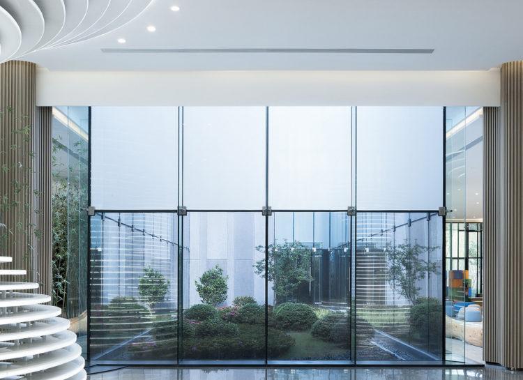 Cyrus Tang fondation Interior