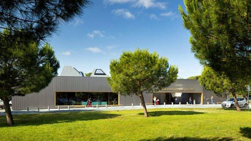 Pour King Kong à Bordeaux, une bibliothèque entre place et jardin
