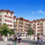Hegoaldea, à Hendaye, le centre-ville néobasque signé Hoarau – Eizmendi