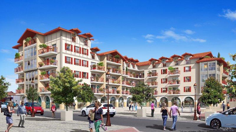 Hegoaldea, à Hendaye, le centre-ville néobasque signé Hoarau - Eizmendi
