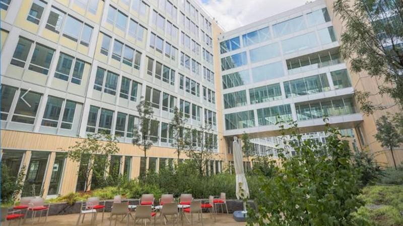 Les bureaux neufs de Voyager, par Quadri Fiore, à Rueil-Malmaison