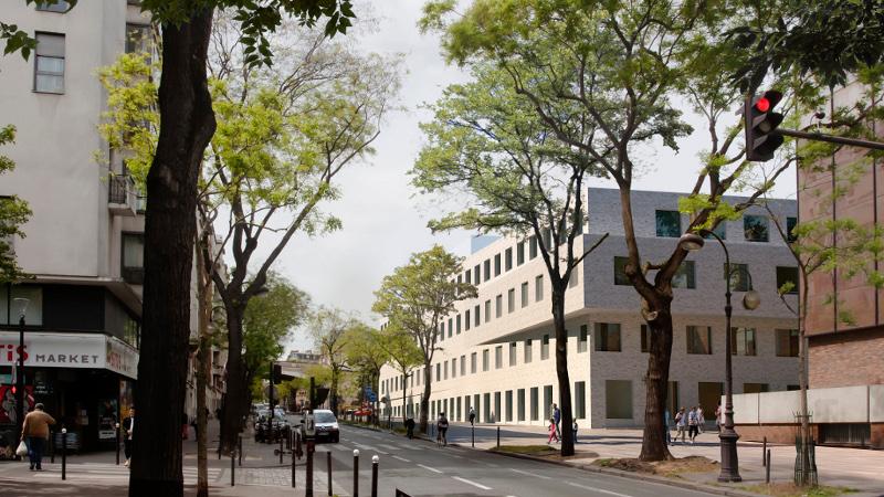 Neurosciences à Sainte-Anne, l'agence Pargade a gardé ses nerfs