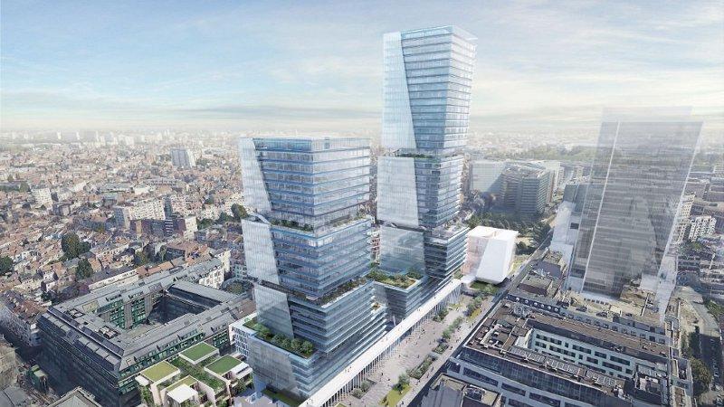 Projet L130, Bruxelles, Belgique – 2Portzamparc et al