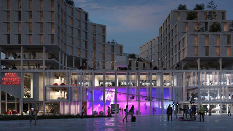 L'ESMA, à Bordeaux, conçue par Triptyque, est frugale mais respirante