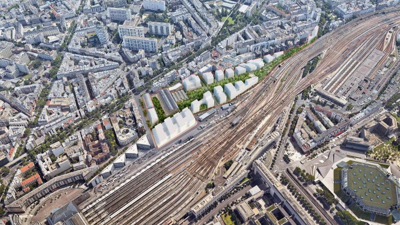A Paris, le nouveau quartier les Messageries est sur les rails