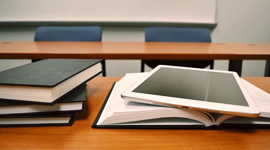 Livres et iPad