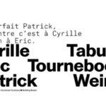 Architecture Exquise – Eric Tabuchi, Patrick Tourneboeuf et Cyrille Weiner