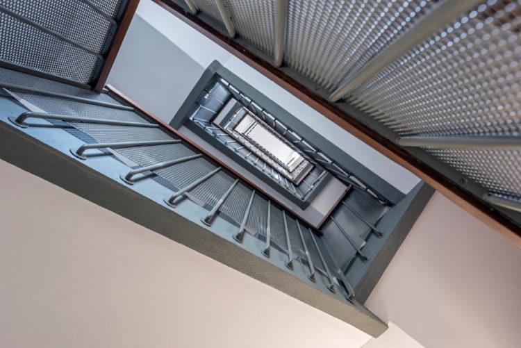 Hauts de Belleville escalier