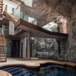 Villa troglodyte à Monaco, par Jean-Pierre Lott et Atelier Raymond