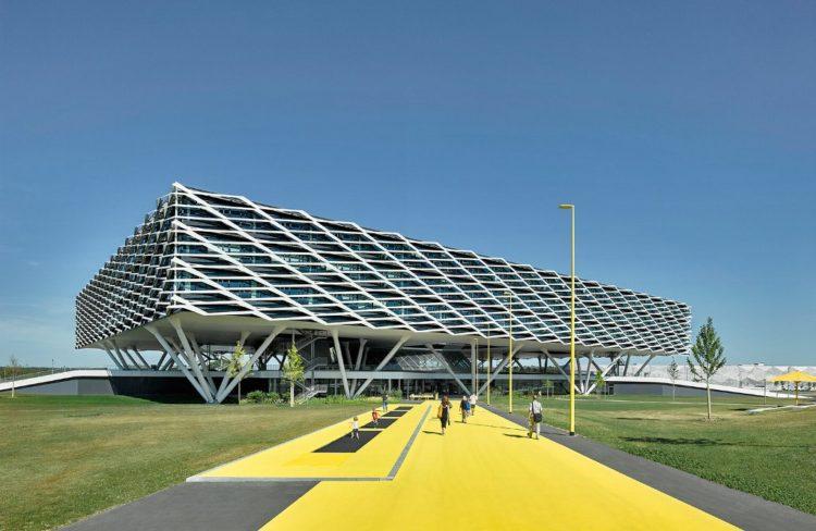 Adidas Arena Façade