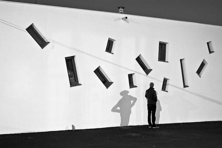 la silhouette, série Parade, Guillaume Martial