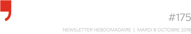 Chroniques d'architecture #175 | Newsletter hebdomadaire du mardi 8 octobre 2019