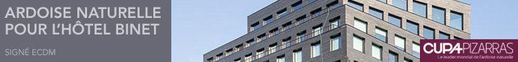 CUPA Pizarras - Hotel Binet signé ECDM