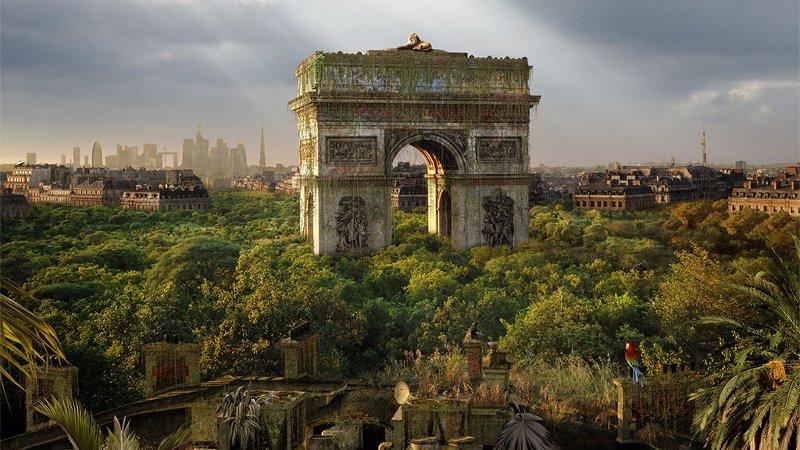 La ville dénaturée par la nature