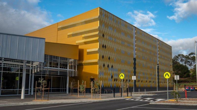 Mullum Mullum Stadium, en Australie, signé Mantric et ANODIC