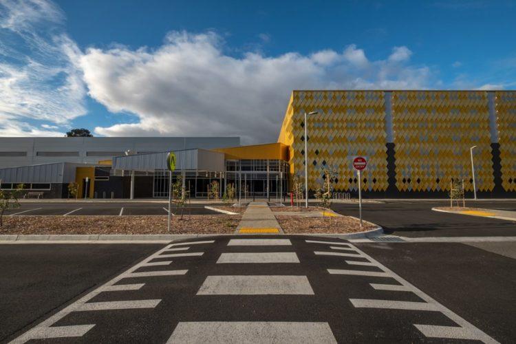 Mullum Mullum stadium Mantric Architects