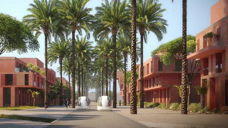 Campus biophilique à Benguérir, signé Architecture-Studio