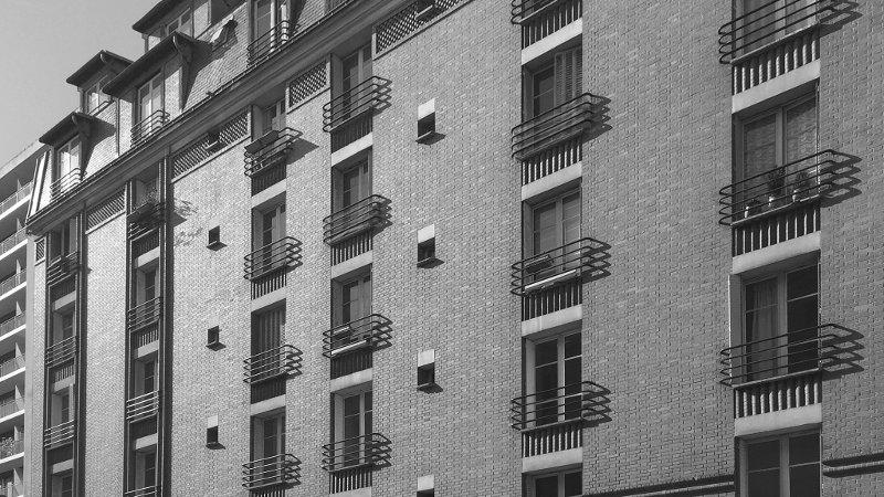 Résidence Javel à Paris, remise au propre par Julie Degand