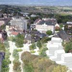 A Saint-Julien-en-Genevois, Praxys fait de la place en chapelet