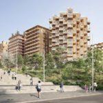 Village Olympique : le projet Nexity/Eiffage coordonné par CoBe et KOZ