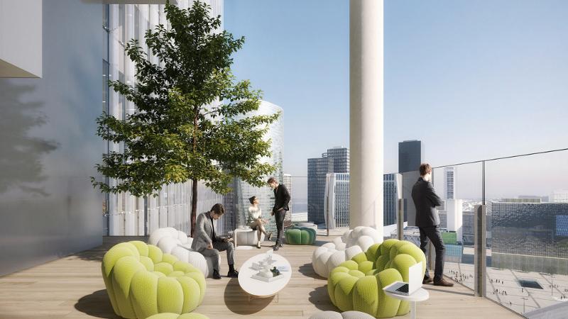 Tour Trinity à La Défense, un investissement sain?