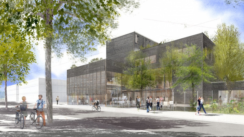 A Paris-Saclay, un Centre Teilhard de Chardin, par l'agence duthilleul