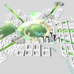 Le rayon vert, lien entre le centre et la périphérie de la ville