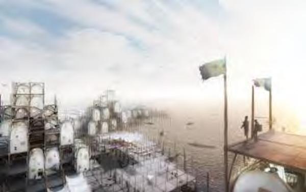 Grand Prix mer Brise-lames