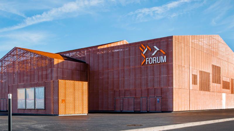 Le Forum de Saint-Louis, un puzzle signé Manuelle Gautrand