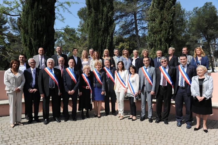 l'équipe du maire