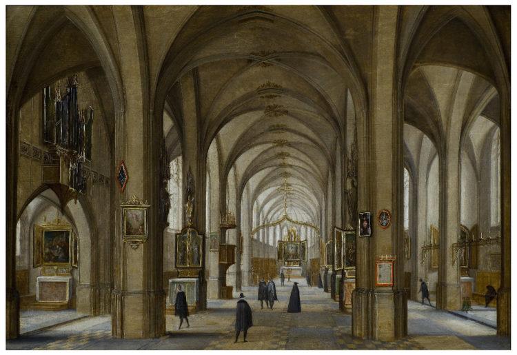 Intérieurs d'église