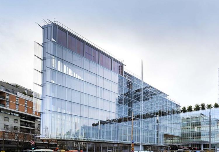 La Maison Des Avocats Signee Renzo Piano Batiment De Bureaux