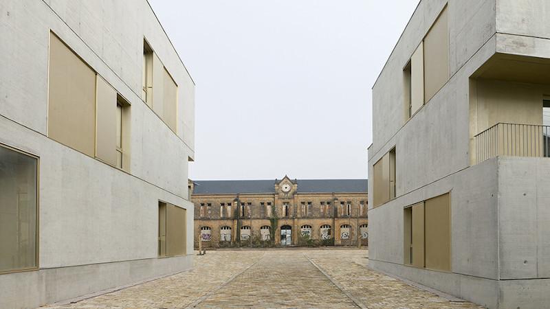 A Charleville-Mézières, 51 logements, et une réhabilitation, par Ateliergadbois