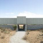 A El Pedregal au Mexique, l'éboulis est matériau de construction