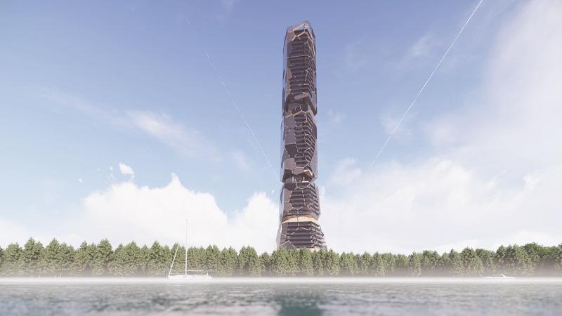 Pekuliari, paléo-futurisme sans réserve avec MU Architecture au Canada ?