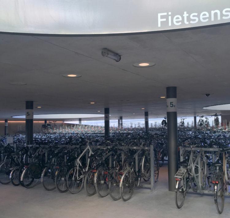 Belgique Parking vélos