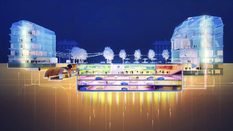 Groundspace, une autre histoire de la ville du futur